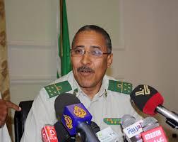 الجنرال براهيم فال ولد الشيباني مدير المكتب الثاني بقيادة الجيش الموريتاني