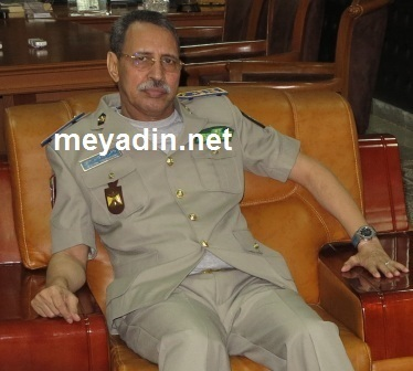 الفريق مسقارو ولد سيدي المدير العام للأمن الوطني
