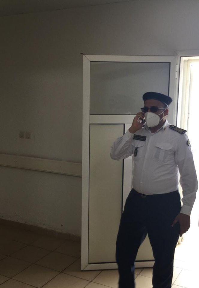 المدير الجهوي للأمن في نواذيبو المفوض الرئيس السفير ولد أحمد الطلبه